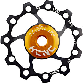 KCNC Jockey Wheel 11 tanden SS Lager, black